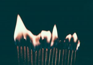 red flame photo